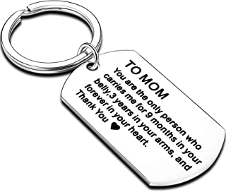 Mom Gifts from Daughter Mom Gifts from Son Keychain Mothers Day Gifts for Mommy Key Chain Birthday Christmas Gifts