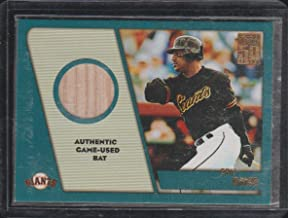 2001 Topps Eric Davis Giants Game Used Bat Baseball Card #TTR-ED