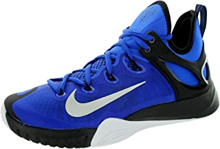 Nike Zoom Hyperrev 2015 Mens Basketball Shoes 705370-400 Lyon Blue Metallic Silver-Black-White 11.5 M US