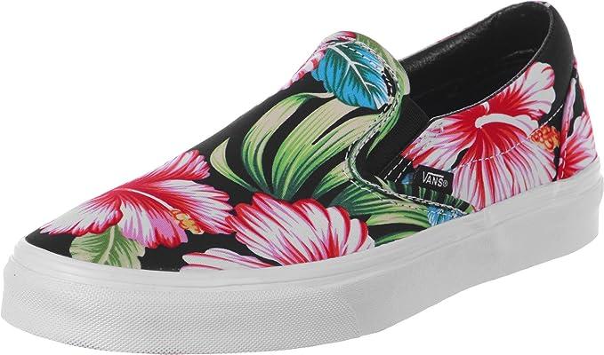 Amazon.com: Vans – Slip On Zapatos Hawaiian Floral 6,5 US men-8.0 ...