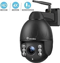 outdoor security camera pan tilt zoom