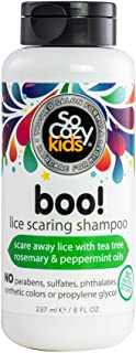 Sponsored Ad - SoCozy Boo! Lice Scaring Shampoo | For Kids Hair | Scare Away Lice with Tea Tree, Rosemary and Peppermint O...