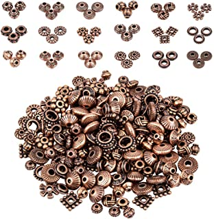 F410 Copper elephant beads Antique copper Indian elephant beads for jewelry making 2pc