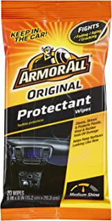 Armor All Wipes 20 Wipes in a Pouch (Protectant)