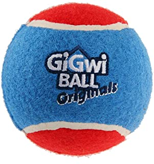 Gigwi Tennis Ball for Dog, 3 Count, Medium