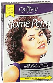 Ogilvie Home Perm For Color Treated Hair, Pack of 3