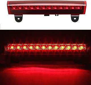 For 2000-2006 GM Chevrolet Tahoe/Suburban/GMC Yukon High Mount LED Rear 3RD Brake/Stop LED Light (Red Housing)