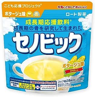 セノビック 成長期応援飲料 ポタージュ味 224g(約28杯分) ロート製薬公式