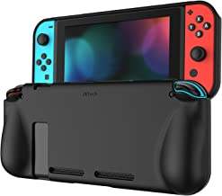 JETech Protective Case for Nintendo Switch 2017, Grip Cover with Shock-Absorption and..