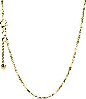 "Pandora Jewelry Curb Chain Pandora Shine Necklace, 23.6"""