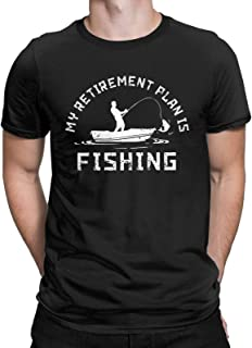 I Do Have A Retirement Plan Funny T-Shirt Fishing Retired Fisherman Gift Tees Tops for Men
