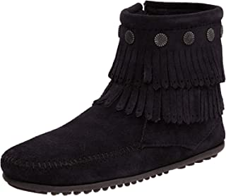 Women's Double-Fringe Side-Zip Boot