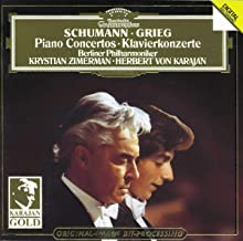 Schumann Pno Cto In A Minor Grieg Pno Cto In A Minor
