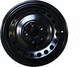 Road Ready Car Wheel For 2008-2012 Honda Accord 16 Inch 5 Lug Black Steel Rim Fits R16 Tire - Exact OEM Replacement - Full-Size Spare