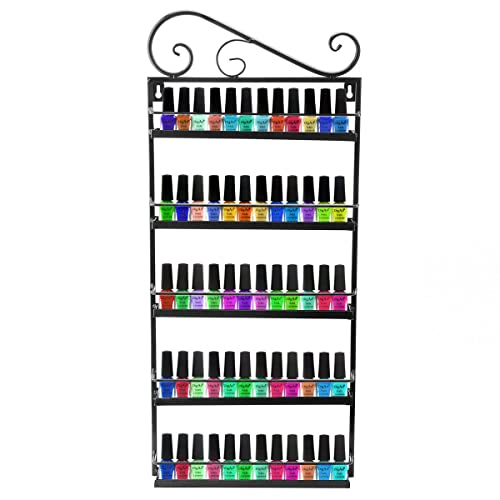 Remarkable Hanging Nail Polish Rack Amazon Com Interior Design Ideas Tzicisoteloinfo