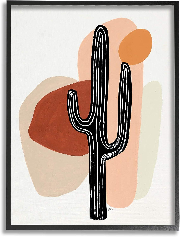 Stupell 35% OFF Industries Western Terracotta Popular overseas Desert Abstract Pla Cactus