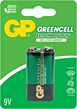kenable GP Greencell Extra Heavy Duty 9V Square Battery with No Lead Added