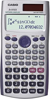 Casio Advanced Scientific Calculator with 2-Line Natural Textbook Display (FX-115ES) (Renewed)
