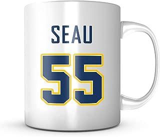 Junior Seau Mug - Jersey Number Football Coffee Cup