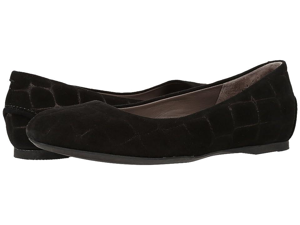 SAS Lacey (Black Croc Suede) Women