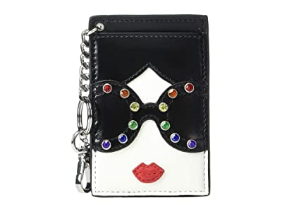 Alice + Olivia Gwen Stace Face ID Card Key Charm (Stace Face) Wallet