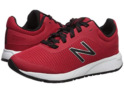 New Balance Kids 455v2 (Little Kid/Big Kid) (Team Red/Black) Boys Shoes