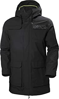 Men's Captains Waterproof Windproof Hooded Rain Parka Jacket