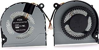 Deal4GO GPU CPU Cooling Fan Replacement for Acer Nitro 5 AN515 AN515-51 AN515-52 AN515-53 A515 A515-51 A515-52 A314-31 G3-...