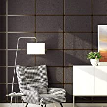 ورق جدران محكم ثلاثي الأبعاد 21 بوصة × 399.9 بوصة، 3D NonMDTBB منسوج ورق جدران لغرفة النوم وغرفة المعيشة وتلفزيون خلفية ال...