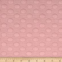 TELIO Pink Deedee Knit Jacquard Fabric by The Yard