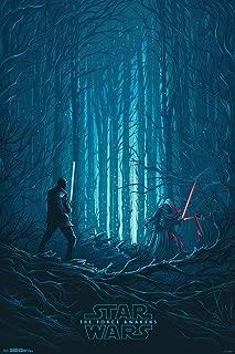 Trends International Star Wars The Force Awakens Standoff Movie Poster 24x36 inch