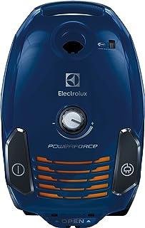 Electrolux epf62is Aspiradora con saco Power Force, ErgoShock, ruedas giratorias, Hygiene Filter 12, apertura a 180, Iris Sky