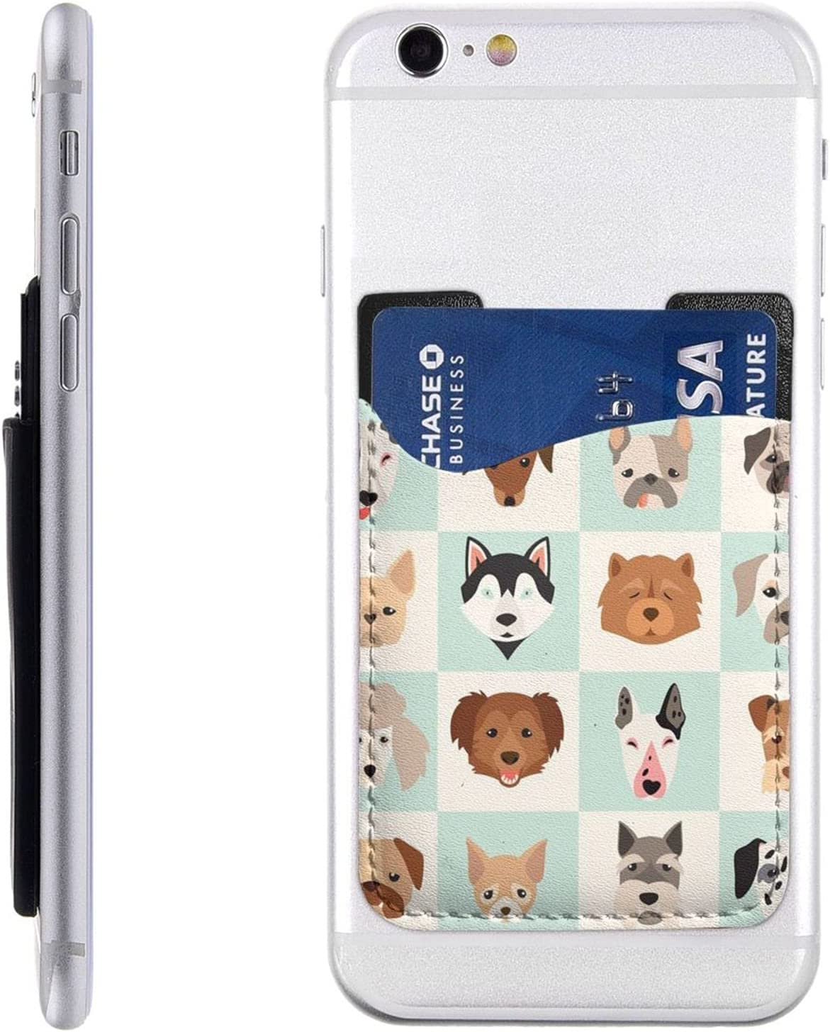 Fun Happy Animals Dog Head Phone Stick Ranking TOP20 Holder Cell On Card Fresno Mall