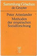 Methoden der empirischen Sozialforschung (Sammlung Göschen ; 2100) (German Edition)