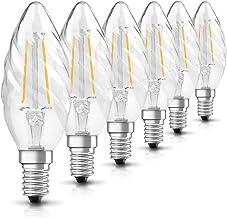 OSRAM LED Retrofit Classic BW / LED lamp, Classic Mini Candle Shape: E14, 2 W, 230 V, 23 W Replacement, Clear, Warm White,...