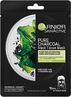 Garnier Charcoal and Algae Hydrating Face Sheet Mask