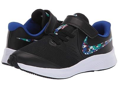 Nike Kids Star Runner 2 Melted Crayon (Little Kid) (Black/Multicolor/White/Neptune Green) Kids Shoes