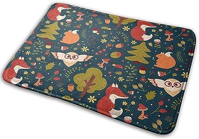 Dreamy Forest Super Absorbent Mat Interior and Exterior Decorative Carpet Doormat Bathroom 40x60