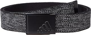 adidas Golf Golf Men's Heather Reversible Web Belt, Black, One Size Fits Most