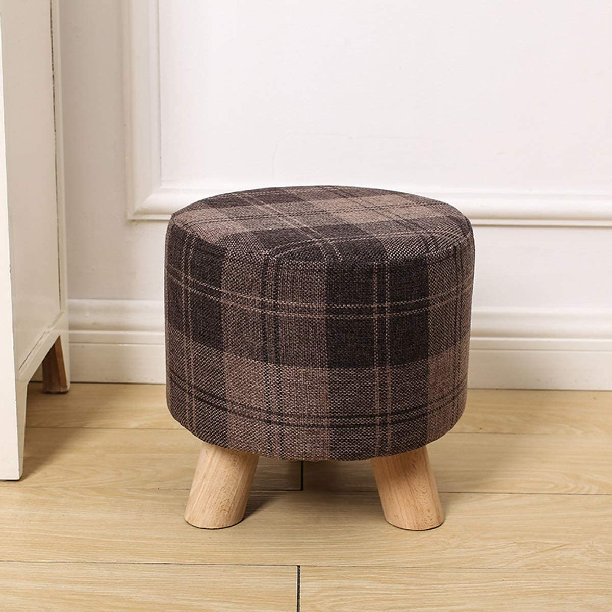 ZHOU free shipping YANG Fashion Coffee Table Stoo Now on sale Stool, Change Shoes Fabric