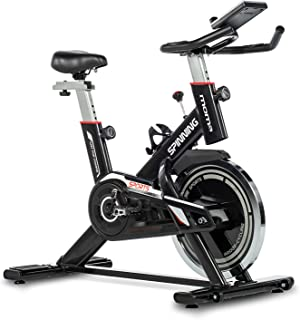 comprar comparacion Moma Bikes - Bicicleta Spinning con Volante de Inercia de 24 kg, Negro