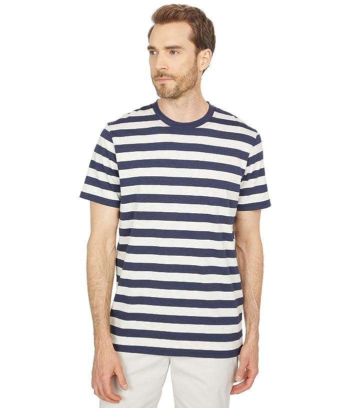 1950s Mens Shirts | Retro Bowling Shirts, Vintage Hawaiian Shirts Selected Homme Maxwell Stripe Slim Tee Mens Clothing $45.00 AT vintagedancer.com