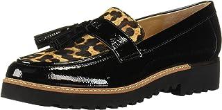 حذاء Carolynn Loafer للسيدات من Franco Sarto, (أسود/جملي), 6