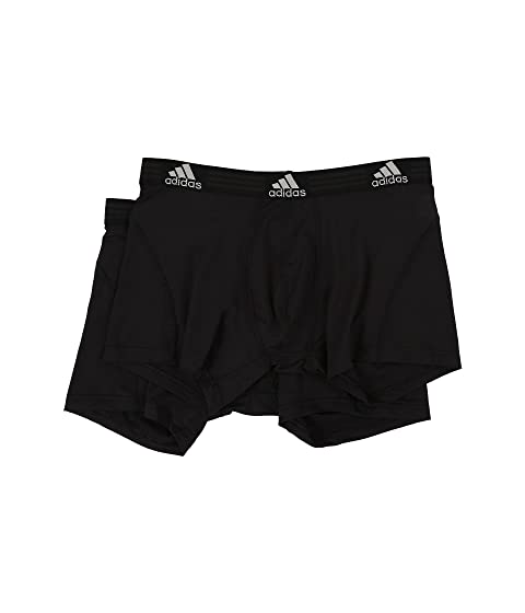 2fa35182773e adidas Sport Performance ClimaLite 2-Pack Trunk at Zappos.com