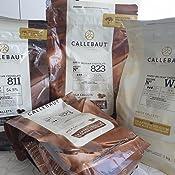 Callebaut, leche, oscuros y blancos chips de chocolate (3 x ...