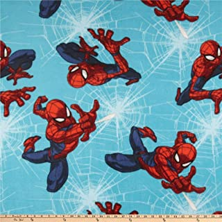 Best spiderman fleece fabric by the yard Reviews