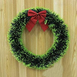 Christmas Wreath Front Door Wall Hanging Ornaments Christmas Tree Decorations Items Xmas Indoor Outdoor Home Decor