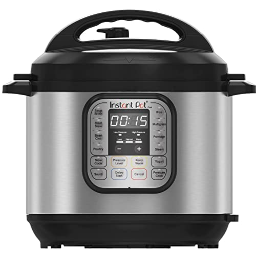Instant Pot Duo 7-in-1 Electric Pressure Cooker, Slow Cooker, Rice Cooker, Steamer, Saute, Yogurt Maker, Sterilizer, and Warmer, 6 Quart, 13 One-Touch Programs