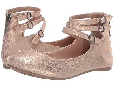 Blowfish Kids Pushi-K (Little Kid/Big Kid) (Rose Gold Meteorite) Girls Shoes