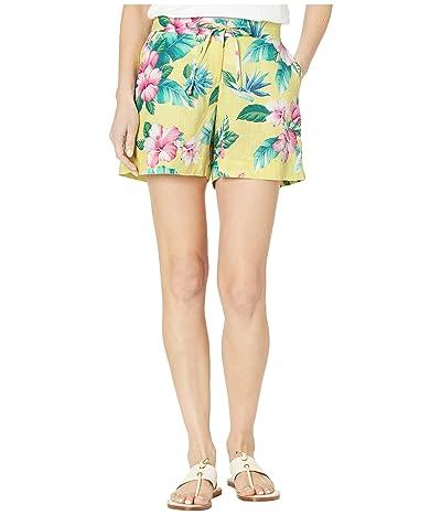 Tommy Bahama Floristic Approach Shorts (Lillikoi Yellow) Women
